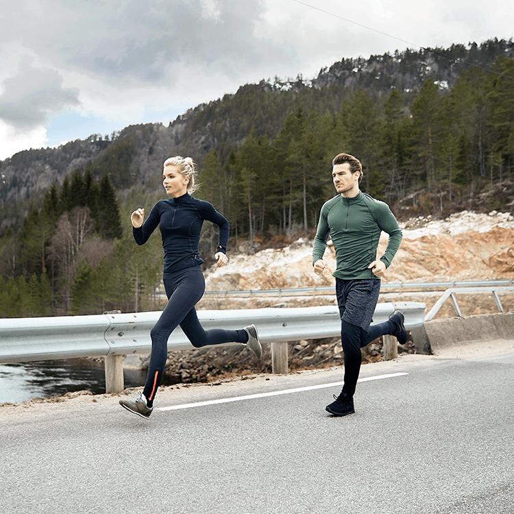 Von Kopf bis Fuß: das beste Outfit, um in der Kälte laufen zu gehen