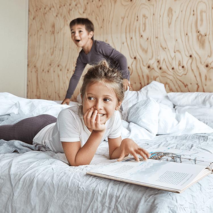 Wolle als Nachtwäsche für Kinder