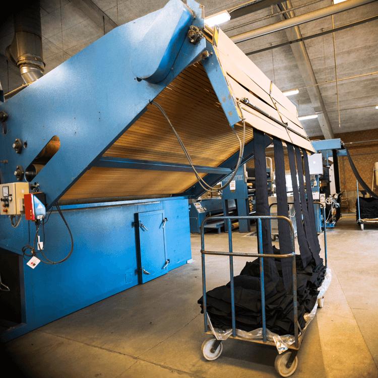 Ein Blick in die Produktion: L. P. Hansen Textilfärberei