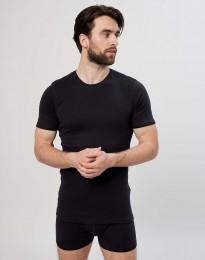 Premium Classic - Baumwoll T-Shirt für Herren schwarz