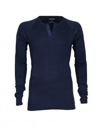 Premium Classic Langarmshirt für Herren blau