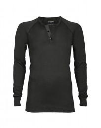 Premium classic - Baumwoll Langarmshirt für Herren grün