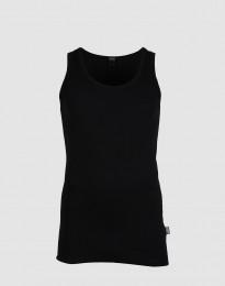 Dilling große Größen: Baumwoll Unterhemd schwarz