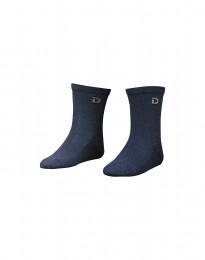 Kinder Socken - natürliche Merinowolle taubenblau