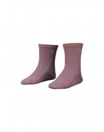 Kinder Socken - natürliche Merinowolle rosé