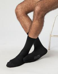 Herren Socken - natürliche Merinowolle schwarz