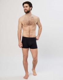 Baumwoll Boxershorts für Herren schwarz