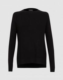 Damen Strickpullover Schwarz