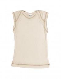 Merino Hemdchen für Babys natur