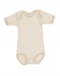 Merino Body für Babys natur