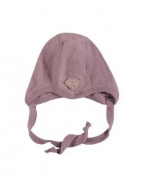 Baby Mütze - Bio Merinowolle rosé