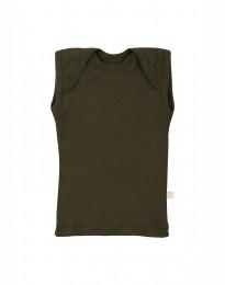 Merino Hemdchen für Babys Grün