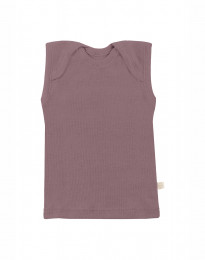 Merino Hemdchen für Babys Rosé