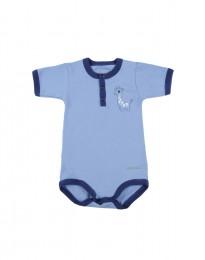 Baumwolle Body für Babys Hellblau
