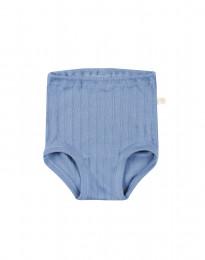 Baby Höschen aus natürlicher Baumwolle blau