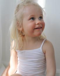 Baumwoll Top für Mädchen weiß