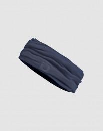 Schlauchschal für Kinder - Exklusive natürliche Merinowolle Blaugrau
