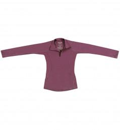 Kinder Pullover aus exklusiver Merinowolle lila