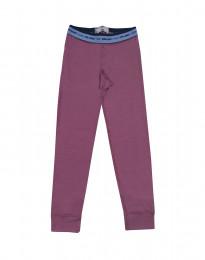 Leggings für Kinder - exklusive Merinowolle lila