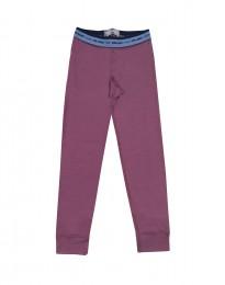 Leggings für Kinder - Merinowolle lila