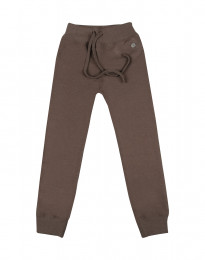 Kinderhose aus Wollfrottee fudge