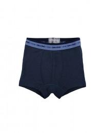 Jungen Unterhose - BIO Merinowolle taubenblau