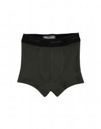 Jungen Unterhose - BIO Merinowolle dunkelgrün