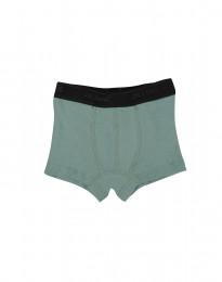Jungen Unterhose - Bio Merinowolle hellgrün