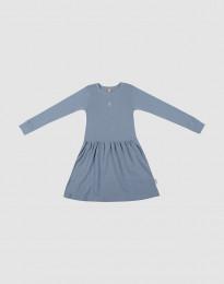 Wollkleid für Kinder Blau