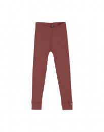 Kinder Merino Leggings Rouge