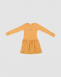 Strickkleid aus Wolle Gelb
