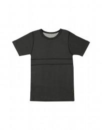 Weiches T-Shirt aus Baumwolle dunkelgrün