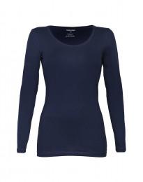 Baumwoll Shirt für Damen navy