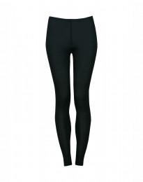 Merino Rippleggings für Damen Nachtblau