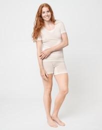 Merino Shorts für Damen natur