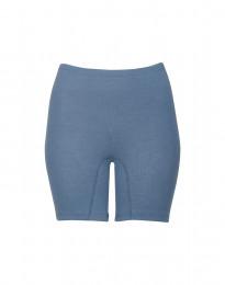 Merino Shorts für Damen taubenblau