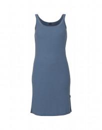Nachthemd aus Merinowolle taubenblau