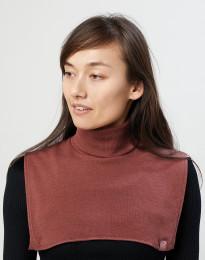 Damen Halswärmer aus Bio Merinowolle rouge