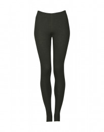 Leggings für Damen - BIO Merinowolle dunkelgrün