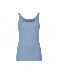 Merino Trägertop für Damen hellblau
