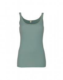 Merino Trägertop für Damen hellgrün