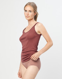 Merino Top für Damen rouge