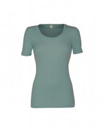 Merino T-Shirt für Damen hellgrün