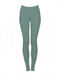 Leggings für Damen - BIO Merinowolle hellgrün