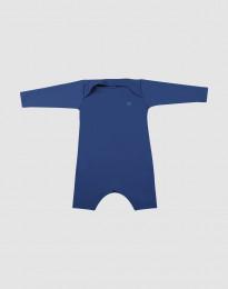 Baby Strampler mit UV-Schutz UPF 50+ blau