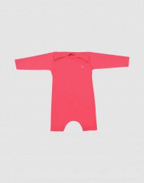 Baby Strampler mit UV-Schutz UPF 50+ pink