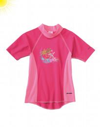 UV-Schutz T-Shirt für Mädchen pink
