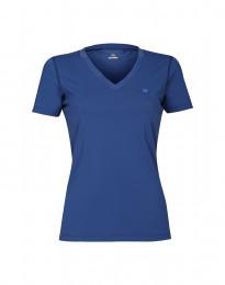 Damen T-Shirt mit UV-Schutz UPF 50+ blau
