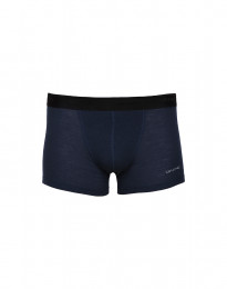 Merino Boxershorts für Herren blau