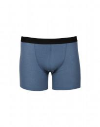Boxershorts aus Rippstrick taubenblau